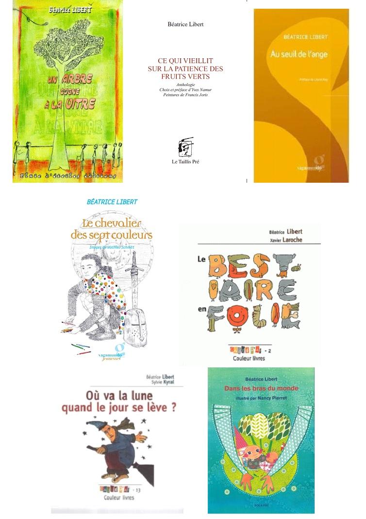 Beatrice Libert couvertures livres